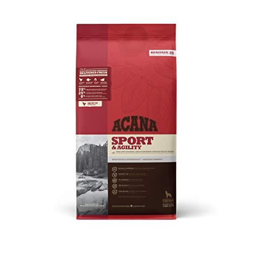 Acana Sport & Agility, Comida para Perros, Ingredientes Frescos, un saco, 17000 gr