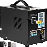 Mophorn 737G Pulse Spot Welder 0.15mm Battery Welding Machine 110V Battery Spot Welder and Soldering Station Portable Pulse Welding Machine for Battery Pack 18650 14500 Lithium Batteries