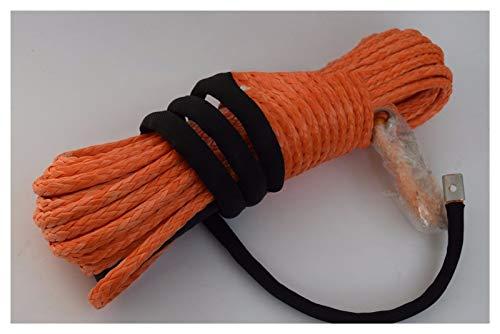 Dhmm123 Cuerdas de Remolque Cable de Cuerda de cabrestante sintético de 3/8'* 100FT, Cable de cabrestante de Barco, Cuerdas de Remolque, Cuerda de Carretera