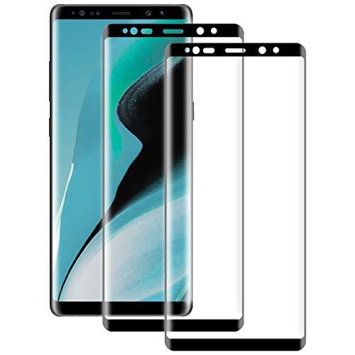 RSSYTZ Cristal Templado para Samsung Galaxy Note 8, 2 Piezas