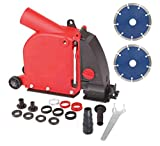 Aidelife Angle Grinder Dust Collection Attachment for Double-Cut Saw,Wall Chaser Dust Shroud 5 inch