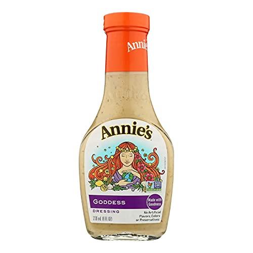 Annie's Naturals Goddess Dressing, 8-Ounce Bottles (Pack of 6)