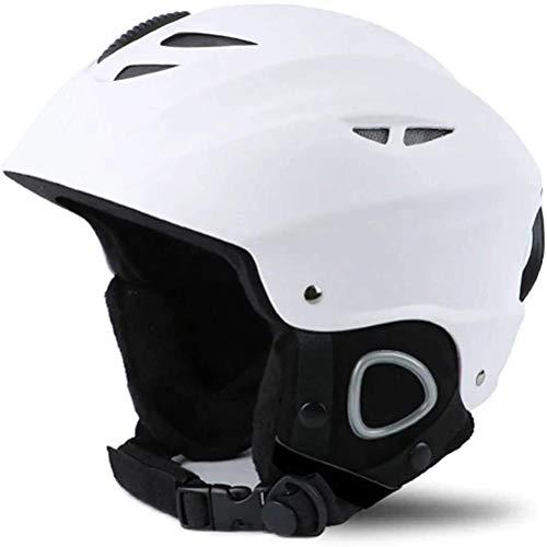 Casco de esquí para mujer y hombre, casco de protección para invierno, ultraligero, protección de la cabeza, amortiguador de impactos y prevención de colisiones mantener el calor