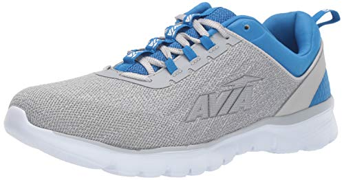 Avia Men's Avi-Factor Sneaker, Alloy/Skydiver/Silver/Bright White, 10.5 Medium US