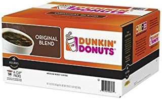 Dunkin Donuts Original Blend Pods K-Cup Pods 54 Count (Packaging May Vary)
