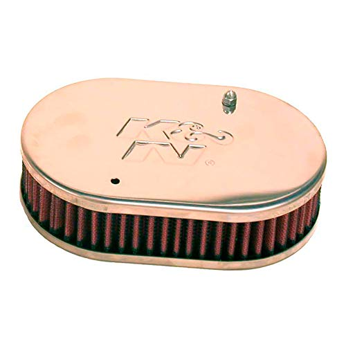 K&N 56-9107 Filtro de Aire para Mejorar Rendimiento, para Weber Coche, Lavable y Reutilizable
