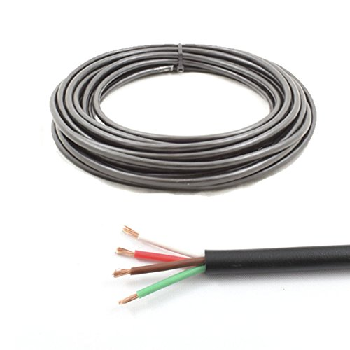 Vieradriges Kabel, dünnwandig, 12V, 24V, 14A zulässig, 10m