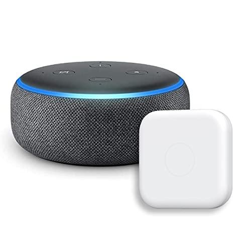 Echo Dot 第3世代 - スマートスピーカー with Alexa、チャコール + Nature スマートリモコン Remo mini2