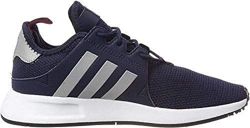 adidas X_PLR, Herren Gymnastikschuhe, Blau (Collegiate Navy/Silver Met./Collegiate Burgundy), 40 2/3 EU