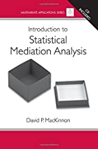 Introduction to Statistical Mediation Analysis (Multivariate Applications Series) by David P. MacKinnon (2008-01-17)