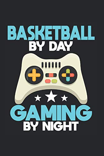 Gamer Basketball Video Game Dunk Gaming Gift: Journal (6x9 inches) with 120 pages