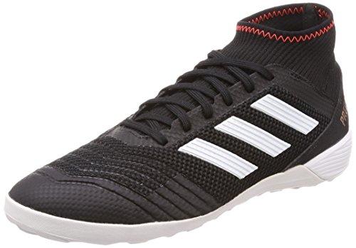 adidas Herren Predator Tango 18.3 IN Fußballschuhe, Schwarz (Core Black/FTWR White/solar Red), 41 1/3 EU