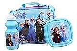 Kids Character 3pcs Lunch Bag Set For School (Frozen)