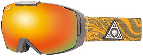 CAGO Sonstige Herren One Brille Snowboardbrille, gelb, orange, grau, Size