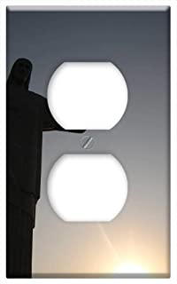 Switch Plate Outlet Cover - Jesus Christ Redeemer Rio De Janeiro Statue