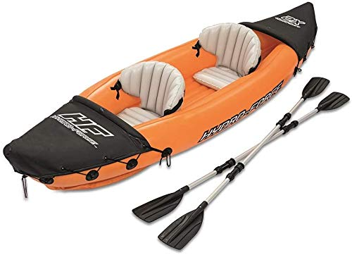 HWZQHJY Kayak with Oars, Tandem White-Water Kayak for Drifting Diving Water Sports