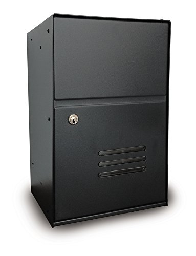 Aluminium box deurintercom brievenbus grijs/gietijzer