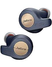 Jabra Elite Active 65t - sportowe słuchawki douszne Bluetooth z pasywną redukcją szumów i czujnikiem ruchu do ćwiczeń - bezprzewodowe połączenia i muzyka - miedziano-niebieski