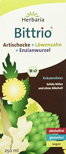 Herbaria Bittrio Kräuterelixier, 1er Pack (1 x 250 ml) - Bio