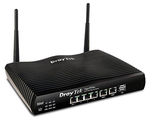 DrayTek Vigor 2926 Router/Firewall Series (Dual-Ethernet WAN) 802.11n Wireless
