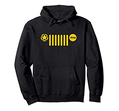 Jeep 7-Slot Grille with Star Pullover Hoodie
