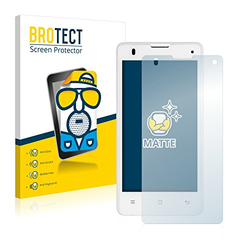 BROTECT 2X Entspiegelungs-Schutzfolie kompatibel mit Medion Life E4503 (MD 99232) Bildschirmschutz-Folie Matt, Anti-Reflex, Anti-Fingerprint