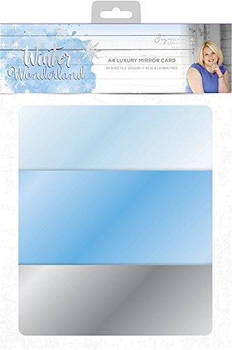 A4 Luxus Spiegelkarte Multi Sara Signature S-GOL-MIRROR Garden of Love