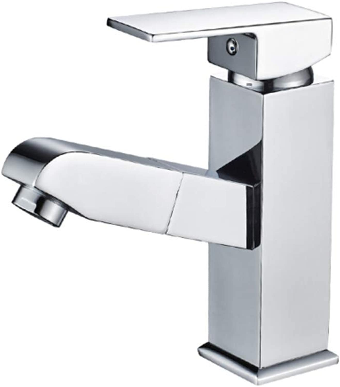 Kitchen Taps Faucet Modern Kitchen Sink Taps Stainless Steeltable Basin Pull Faucet Cold and Hot Retractable Toilet Toilet Basin Faucet Wash Basin Faucet Stretchable Wash