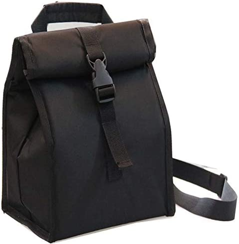 Insulated Lunch Bag Thermal Leakproof Foldable Lunch Box with Adjustable Shoulder Strap for product image