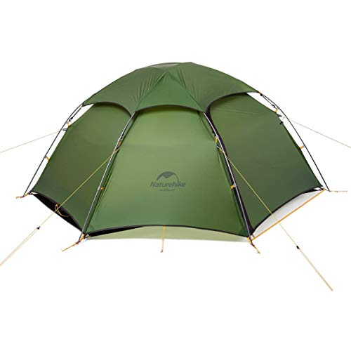 Naturehike Cloud Peak Backpacking Tent for 2 Person 4 Season Camping Tent for 2 Man (Green)
