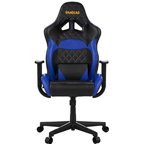 gamdias SEDIE Gaming ZELUS E1 Black, Nero/Blu