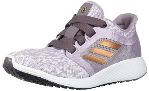 adidas Women's Edge Lux 3 Running Shoe, Soft Vision/Copper met./ Vision Shade, 9 Standard US Width US