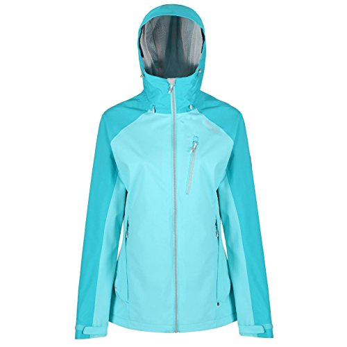 Regatta Damen Birchdale Waterproof and Breathable Shell Jacke, Horizon/Aqua, 42