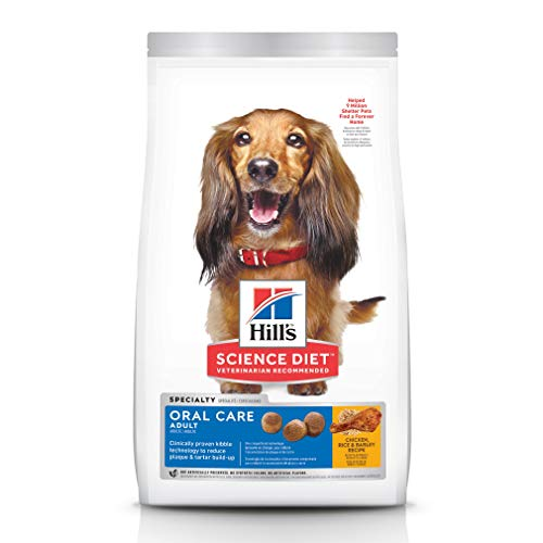 Hill's Science Diet Dry Dog Food, Adult, Oral...