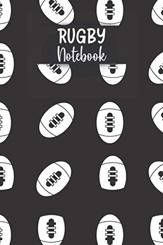 Rugby Notebook: Funny Rugby Notebook | Logbook for Football Lovers | Cute Lines Journal | Lined paper For Sport Lover | For Journaling | Note Taking ... and Kids | Nice Christmas or Birthday Present