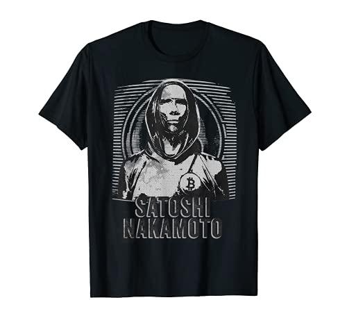 Satoshi Nakamoto - Bitcoin desde 2009 Ventilador de criptomonedas Camiseta