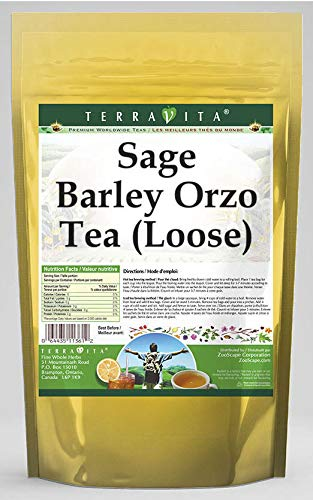 Fixed price for sale Sage Barley Orzo All items in the store Tea Loose 8 oz 557361 Pack ZIN: - 2