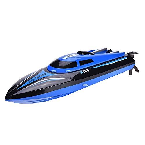 Bateau RC, Racing RC Boats Bateau avec Télécommandé Haute Vitesse 2.4GHz 4 Canal 25km/h, Capsize Reset Function, Système de Refroidissement de l'eau, pour Adultes et Enfants