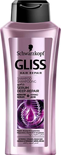 Schwarzkopf Gliss Hair Repair Shampoo Deep Repair Serum, 400ml
