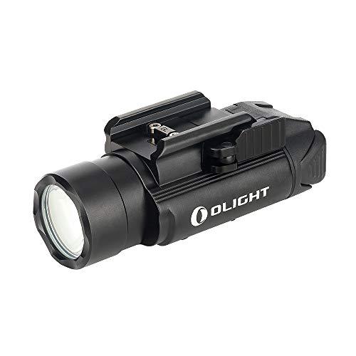 Olight PL-Pro Valkriie - Linterna militar recargable para airsoft (1500 lúmenes, 280 m, con MCC, carga magnética, compatible con riel 1913 y GL, para autodefensa, color negro 🔥