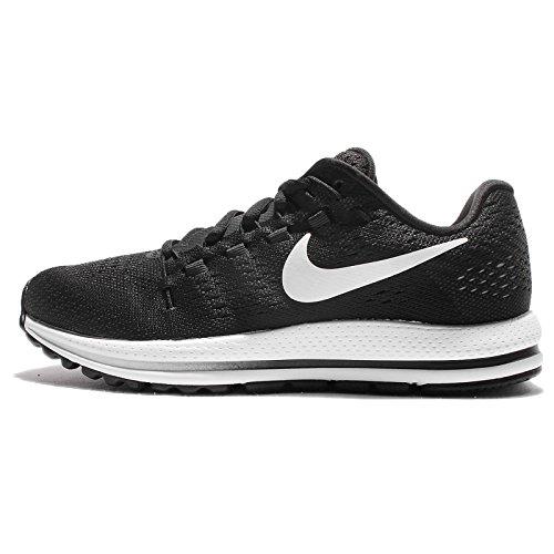 Nike Women's Wmns Air Zoom Vomero 12 Running Shoes, Grey (Wolf Grey/Pure Platinum/Hot Punch/Black), 2.5 UK