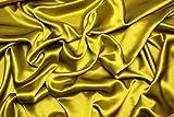 Escalano 100% Reine Seide Satin Crepe Silk Seidenkleid