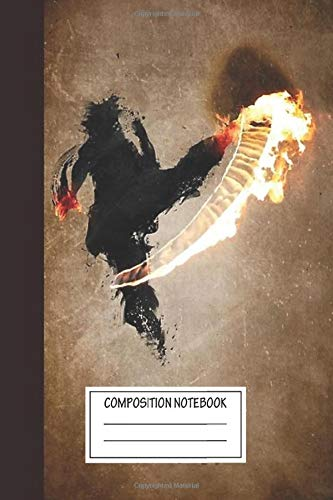 Notebook: Get Bent Fire Wide Ruled , Journal for Writing, Size 6' x 9', 110 Pages