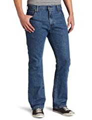 ORIGINAL LEVI'S JEANS: For over 150 years, Levi's has created products for those who value craftsmanship, quality, utility and style LEVI'S 517: These black jeans feature a bootcut style that is designed to fit over your boots and has been constructe...