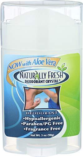 Naturally Fresh Stick de déodorant large Crystal - Homme/femme - 90 ml