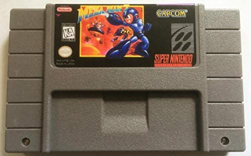 Mega Man 7 Super Nintendo SNES Reproduction Cartridge product image