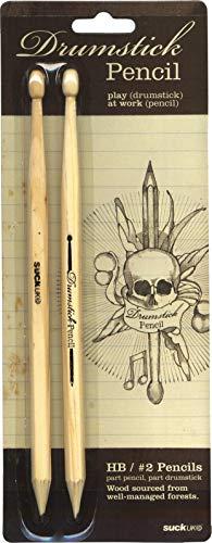 Suck UK Drumstick Pencils, Pair