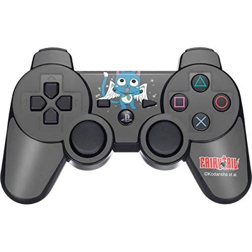 Skinit Decal Gaming Skin for PS3 Dual Shock Wireless Controller - Officially Licensed Funimation Fairy Tail Happy Design