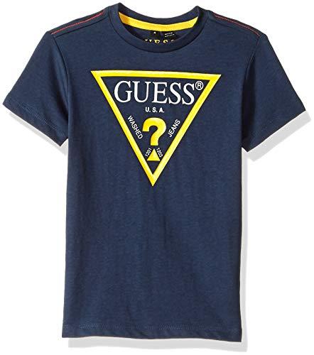 Guess - Tee Shirt Garçon L73i55 - K5m20 Dukb Marine, Bleu, 12 ans