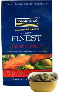 フィッシュ4ドッグ FISH4DOGS サーモン コンプリートフード 小粒 6kg+サンプルフード、オマケ付き